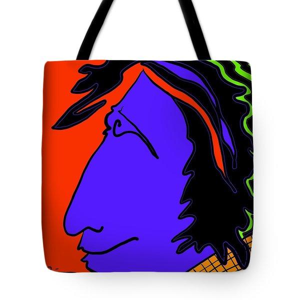 Bright Guy Tote Bag