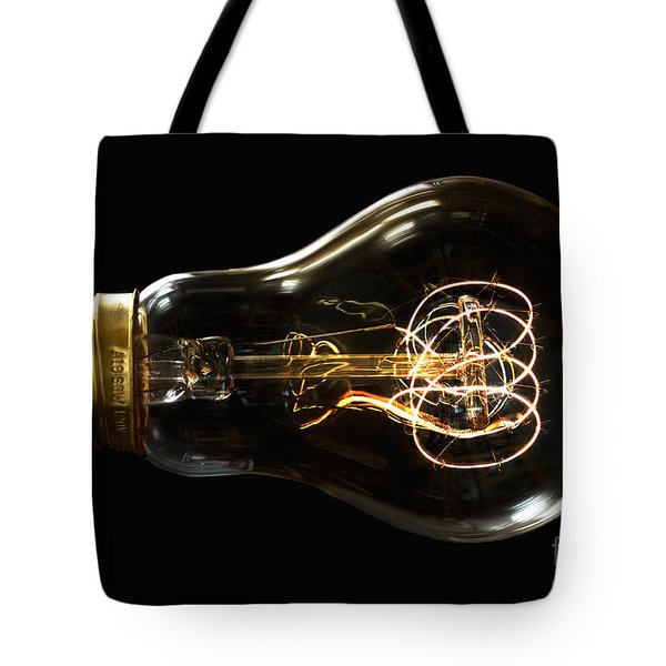 Bright Idea Tote Bag by Mark Miller
