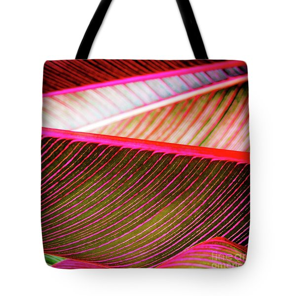 Bright Leaves 548 Tote Bag