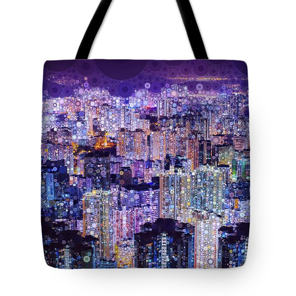 Bright Lights, Big City Tote Bag