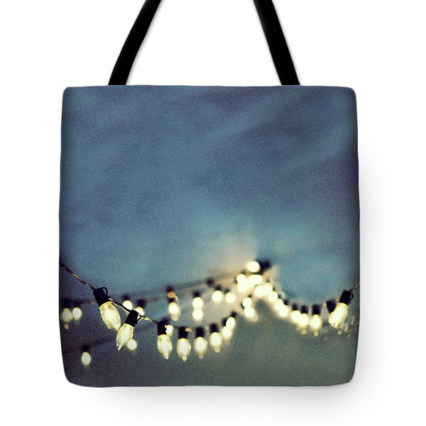 Tote Bag featuring the photograph Bright Lights by Rebecca Cozart