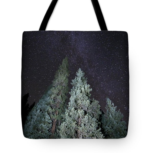 Tote Bag featuring the photograph Bright Night by Jeffrey Kolker