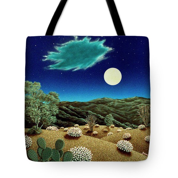Bright Night Tote Bag by Snake Jagger