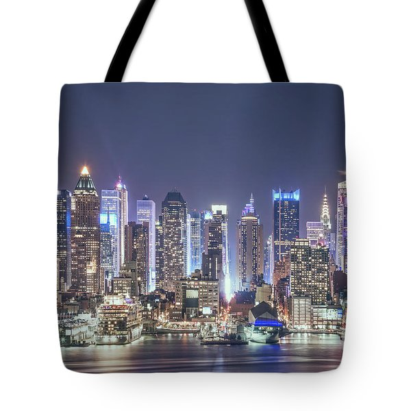 Bright Nights Tote Bag