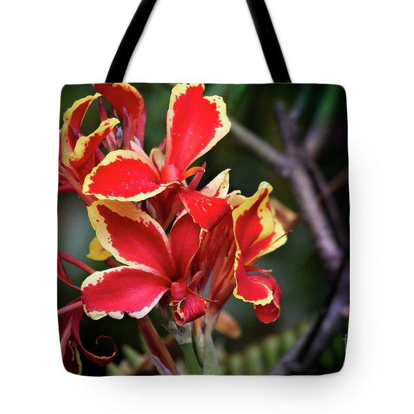 Tote Bag featuring the photograph Bright Spot In My Day by Mary Machare