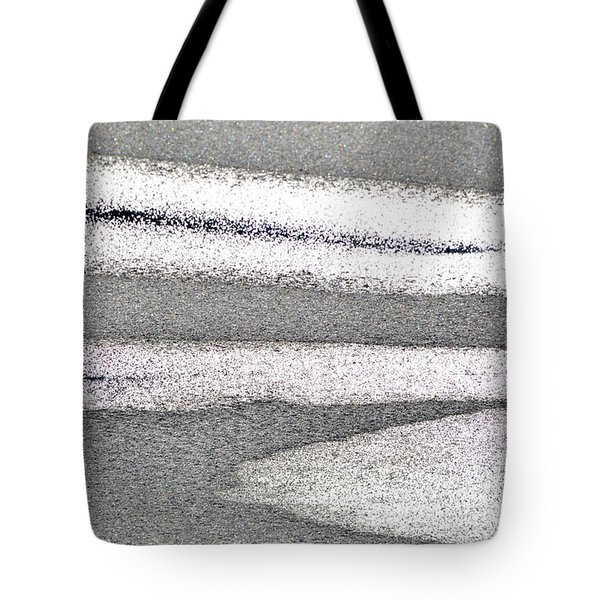 Bright Sun On The Ice  Tote Bag by Lyle Crump