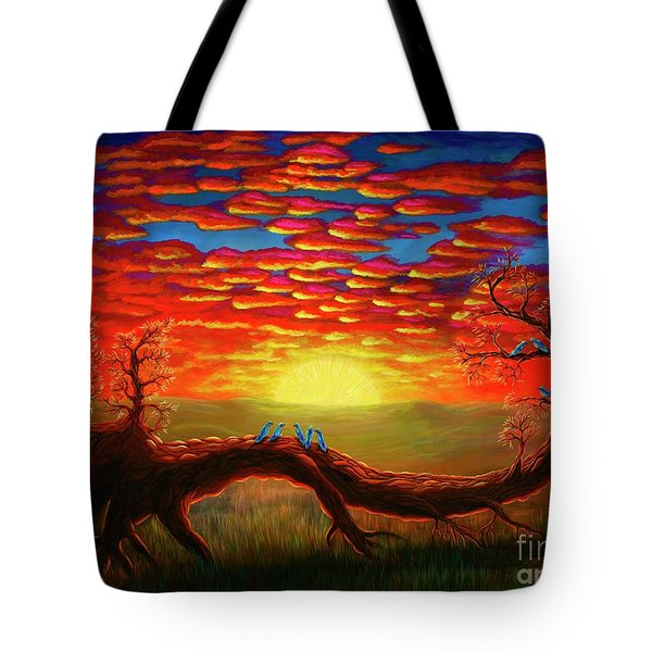 Bright Sunset Tote Bag