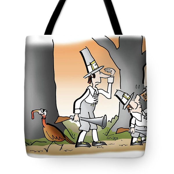 Tote Bag featuring the digital art Bright Thanksgiving by Mark Armstrong