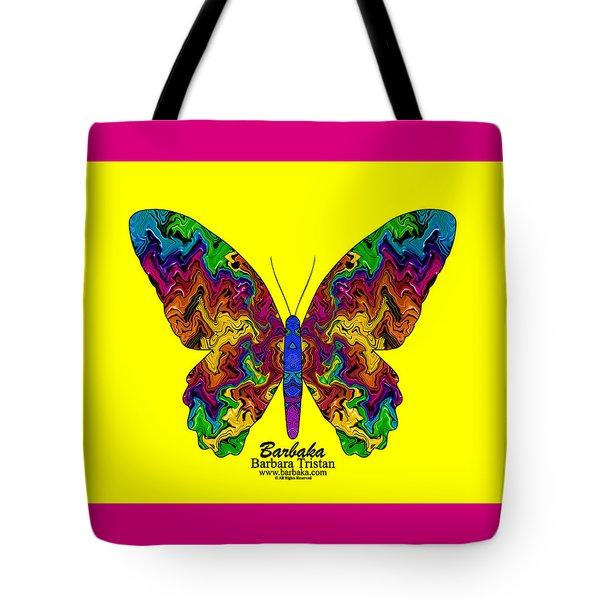 Bright Transformation Tote Bag by Barbara Tristan