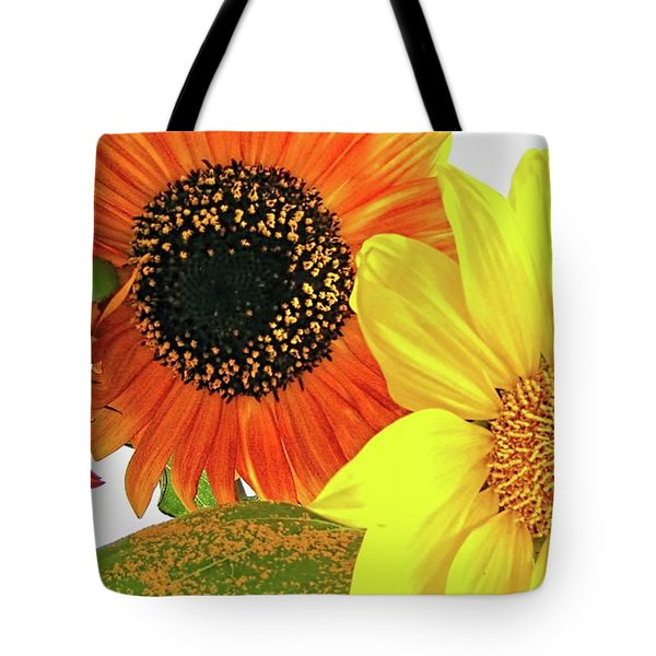Bright Trio Tote Bag by Kathy Bassett