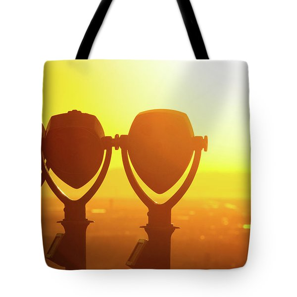 Tote Bag featuring the photograph Bright Visions by SR Green