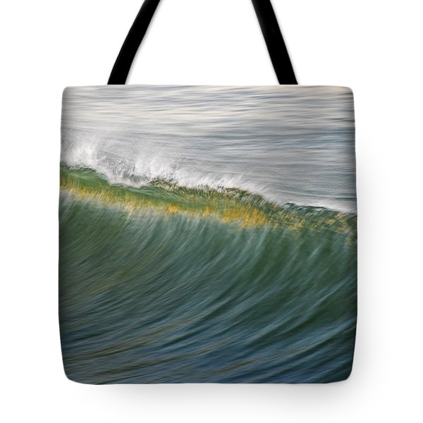Bright Wave Tote Bag by Kelly Wade
