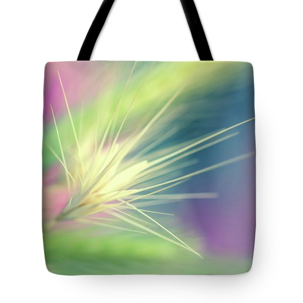 Bright Weed Tote Bag by Terry Davis