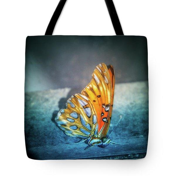 Bright Wings Tote Bag