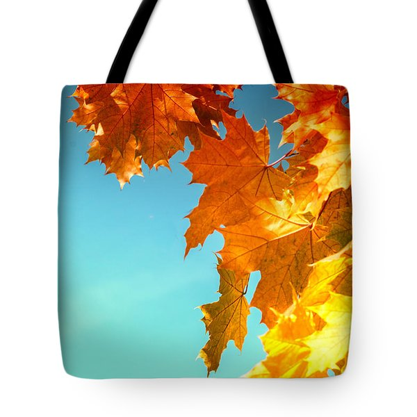 The Lord Of Autumnal Change Tote Bag