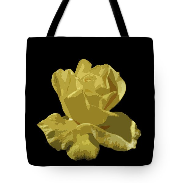 Bright Yellow Beauty Tote Bag by Laurel Powell