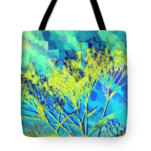 Brighter Day Tote Bag by Shawna Rowe
