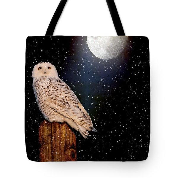 Brighter Than The Moonlight Tote Bag by Heather King