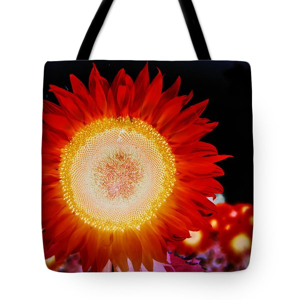Brighter Than The Sun Flower Tote Bag