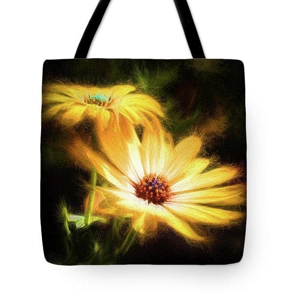 Brightest Sun Shining Tote Bag