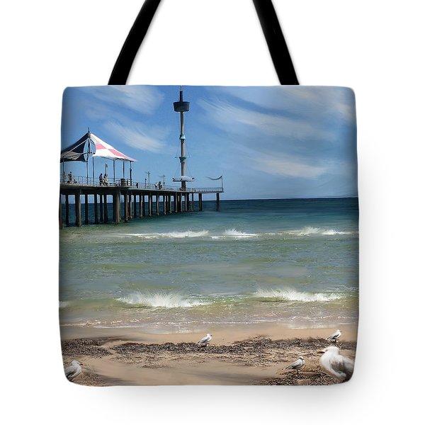 brighton Beach Tote Bag by Anthony Christou