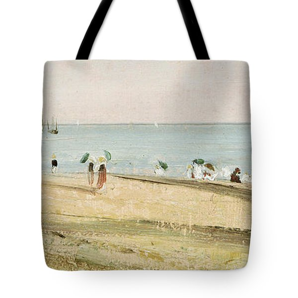 Brighton Beach   Detail Tote Bag by John Constable