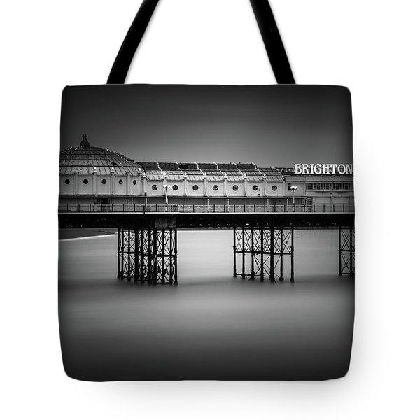 Brighton Pier, England Tote Bag