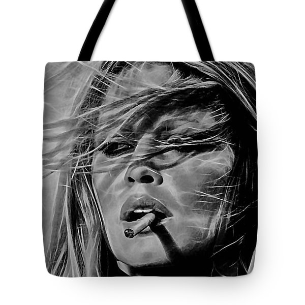 Brigitte Bardot Collection Tote Bag by Marvin Blaine