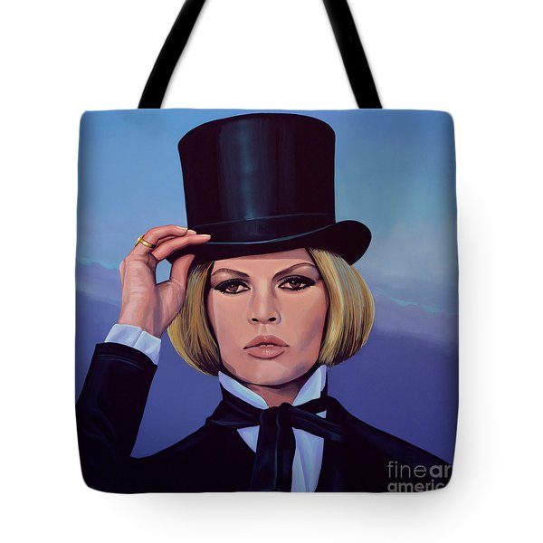 Brigitte Bardot Painting 2 Tote Bag