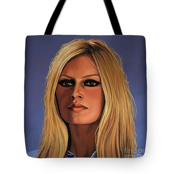 Brigitte Bardot 3 Tote Bag by Paul Meijering