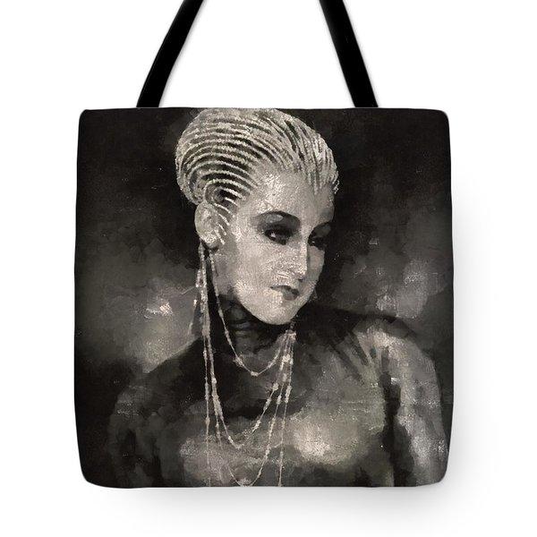 Brigitte Helm In Metropolis Tote Bag