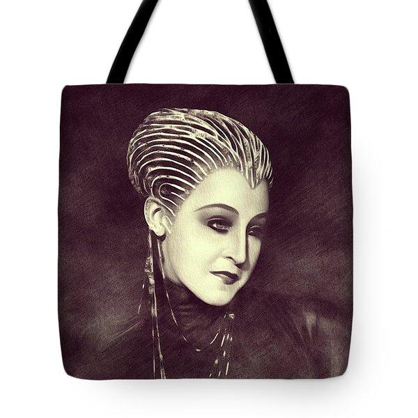 Brigitte Helm - Metropolis Tote Bag