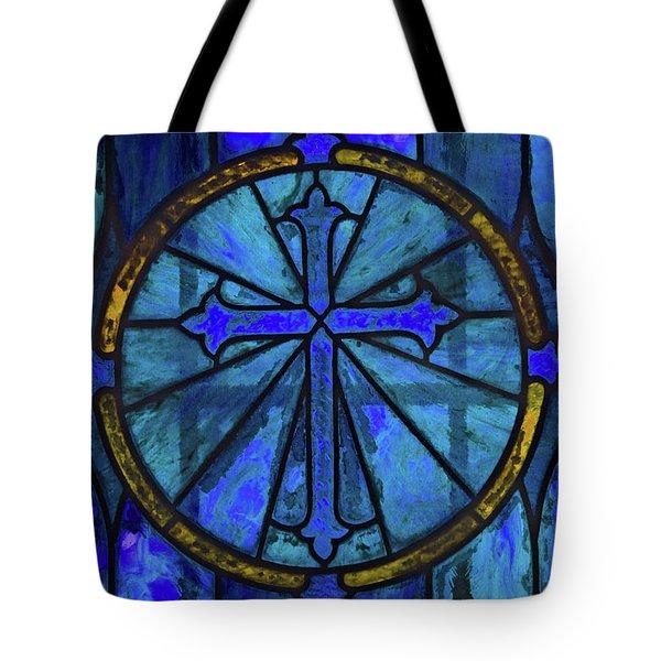 Brillant Blue Tote Bag