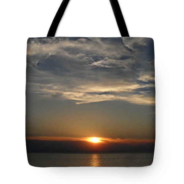 Brilliant Blue Sky Tote Bag