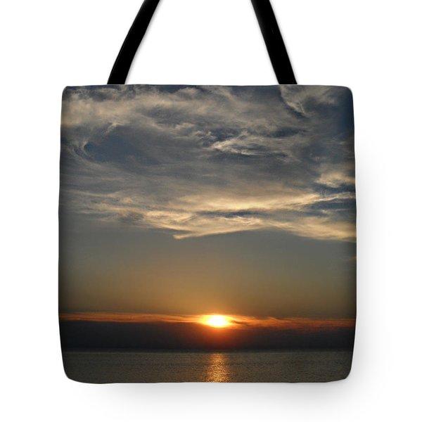 Brilliant Blue Sky Tote Bag