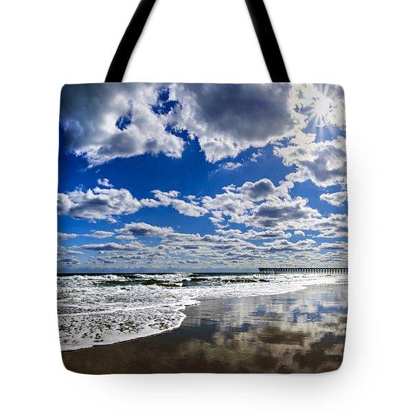 Brilliant Clouds Tote Bag