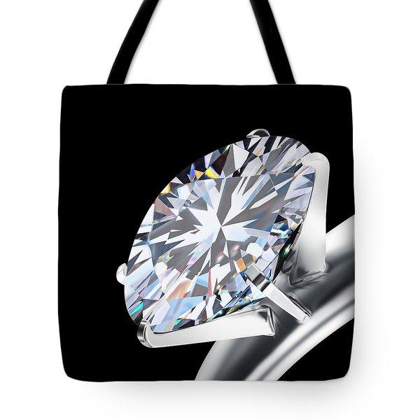 Brilliant Cut Diamond Tote Bag