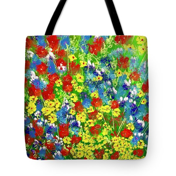Brilliant Florals Tote Bag