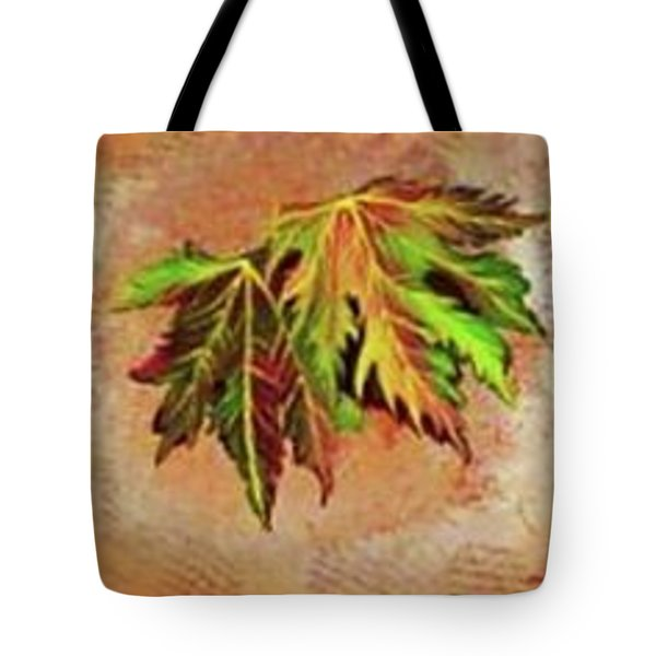 Brilliant Is The Color Of Autumn  Tote Bag by Talisa Hartley