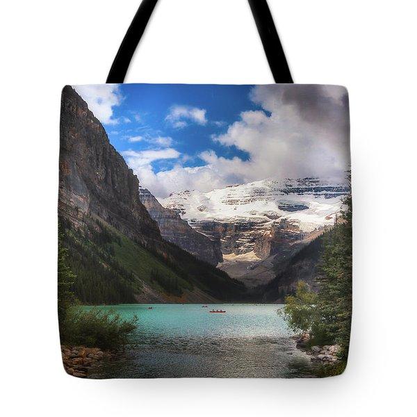 Brilliant Lake Louise Tote Bag