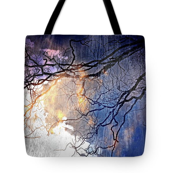 Brilliant Rain Tote Bag by Gray  Artus