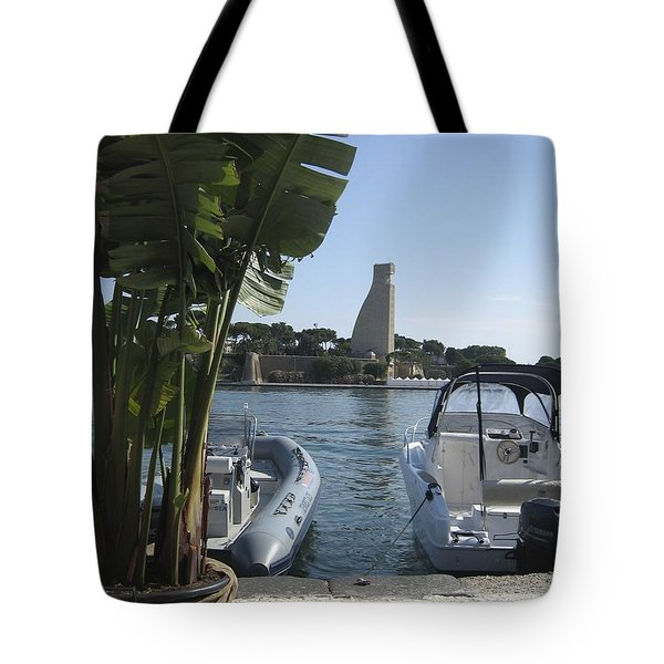 Brindisi By The Sea In May Tote Bag