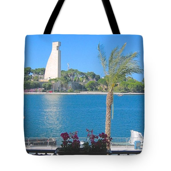Brindisi By The Sea Tote Bag