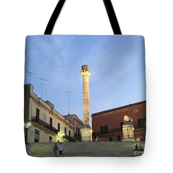 Brindisi Colonne Appian Way 2 Tote Bag