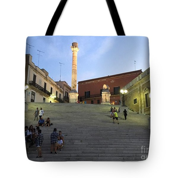 Brindisi Colonne Appian Way Tote Bag