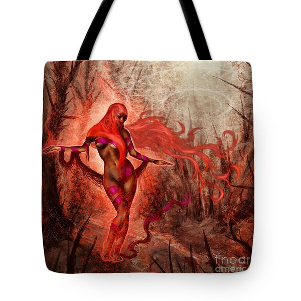 Bring Calm To Chaos  Tote Bag by Tony Koehl