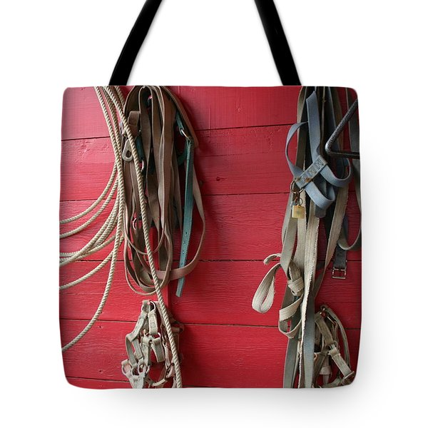 Tote Bag featuring the photograph Bring Em Home by Marie Neder