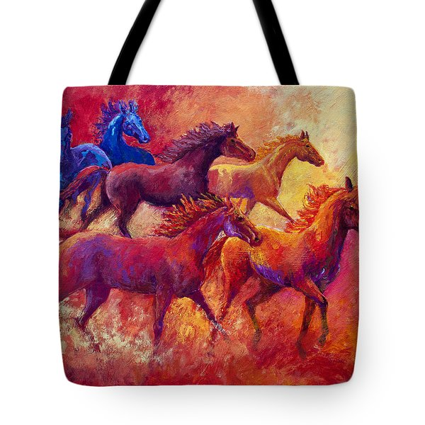 Bring The Mares Home Tote Bag