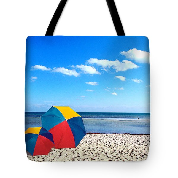 Bring The Umbrella With You Tote Bag by Susanne Van Hulst