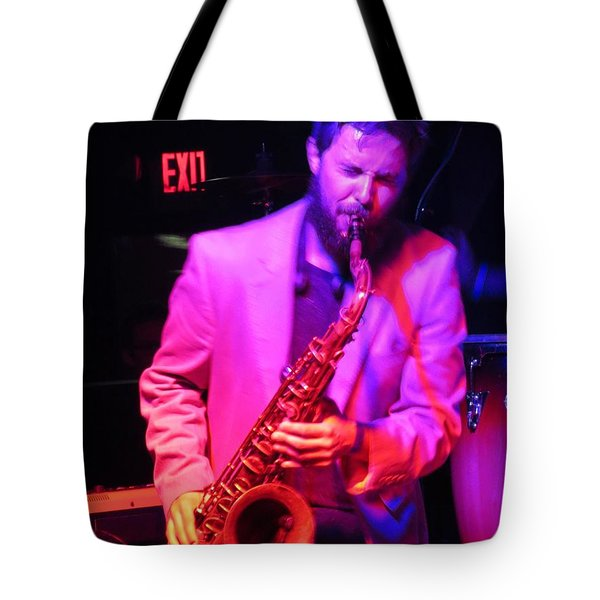 Tote Bag featuring the photograph Bring Them .blues by Aaron Martens